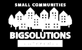 Small Communities. Big Solutions.